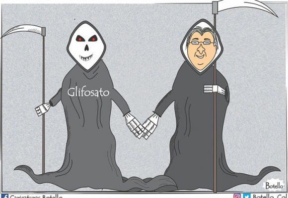 Caricatura: ¿Vía libre al glifosato?
