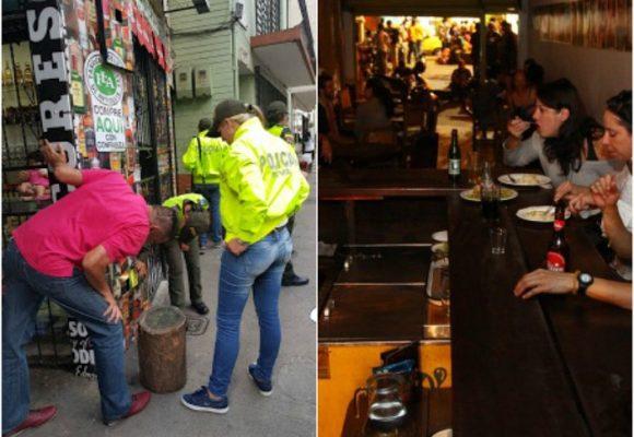 El abuso de la policía en el guanábano, el emblemático bar de Medellín