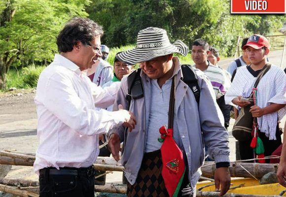 La popularidad de Petro en el Cauca