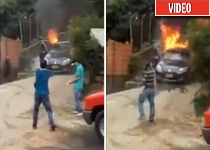 [VIDEO] A balazos se disputan las rutas de transporte en Itagüí