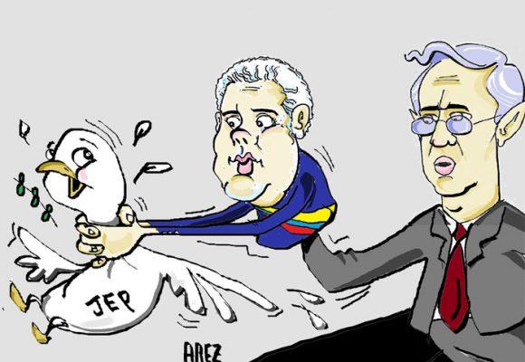Caricatura: Haciendo el mandado...