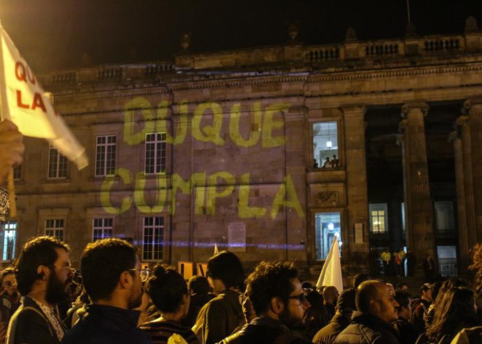 Garantizar la protesta social no es una opción sino un deber