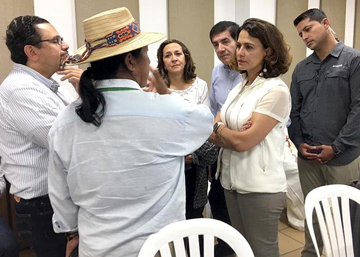 El fracaso de la comisión del gobierno en Santander de Quilichao