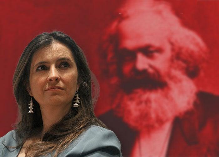 No, senadora Valencia, Marx no luchó por la libertad del hombre