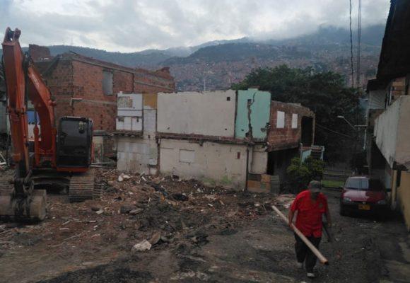 Actores armados y compensaciones irrisorias en la obra del Metrocable El Picacho