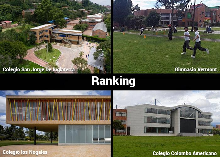 Los 37 mejores colegios de Colombia