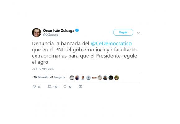 Cuando el uribismo denunció la dictadura que quiere imponer Duque hoy