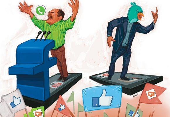 Las redes sociales, un nuevo campo de batalla en política