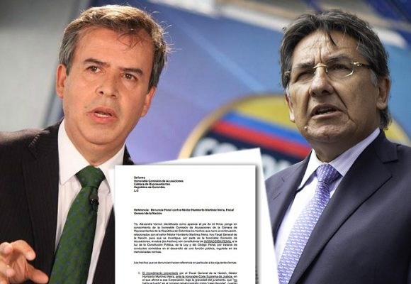 Álex Vernot se defiende: denuncia penalmente al fiscal Martínez