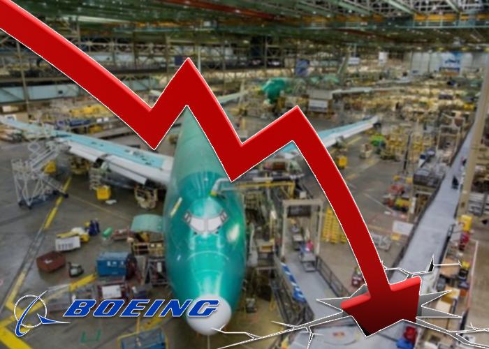 Ventas de Boeing caen a la mitad en primer trimestre de 2019