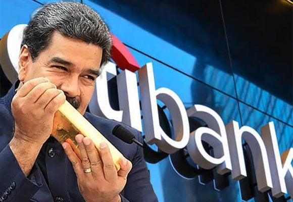 Citibank toma control de oro venezolano
