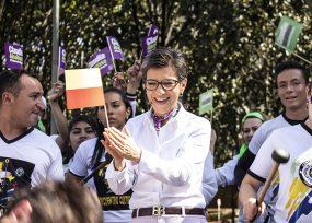 Claudia López se queda con la candidatura de los Verdes en Bogotá