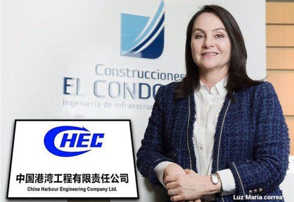 Constructores chinos entran duro a Colombia