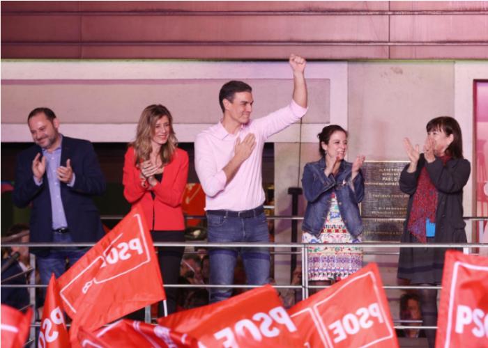 Pedro Sánchez, camino a la Presidencia del gobierno español