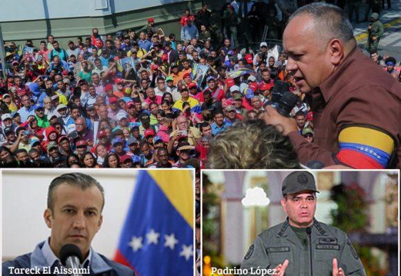 Diosdado Cabello y los mosqueteros de Maduro