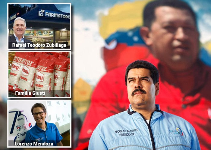 Los 10 grandes empresarios que han sobrevivido con Chávez y Maduro