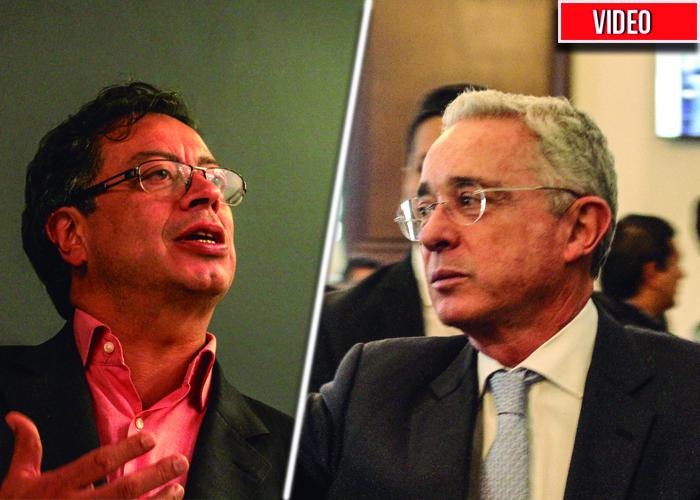 """""""Sicario, Sicario"""": A Uribe se le fueron las luces en el Congreso. Video"""