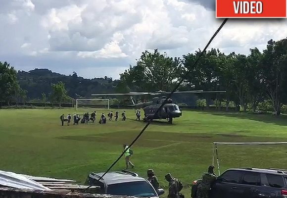 VIDEO: En estampida se fueron Duque y su comitiva del Cauca