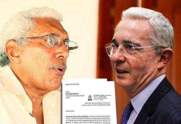 """""""Si me asesinan, culpo al gobierno en cabeza de su 'presidente' Álvaro Uribe"""": Joaquín Gómez"""