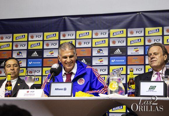 Primer enfrentamiento entre Carlos Queiroz y el presidente de la Fedefútbol