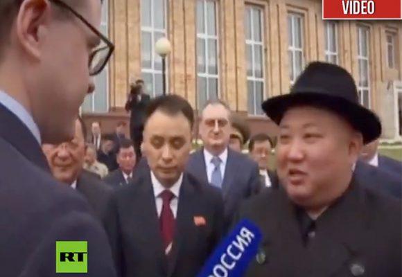 Occidente conoce la misteriosa voz de Kim Jong-Un