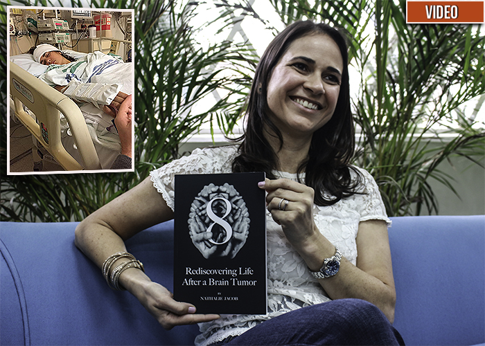 ¿Cómo es la vida después de un tumor cerebral? Nathalie Jacob lo cuenta en su libro '8'