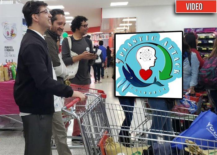 'Plastic Attack':combate frontal al uso del plástico