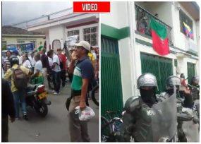 VIDEO: Duras protestas contra la Minga en Popayán