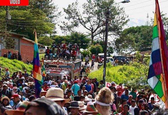 En las entrañas de la Minga en el Cauca. VIDEO