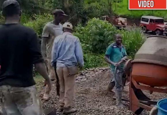 En el Cauca los afros construyen puentes en dos meses... y no se caen