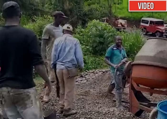En el Cauca los afros construyen puentes en dos meses… y no se caen