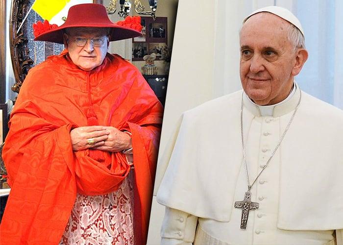 Resultado de imagen para grupo de cardenales enemigos del papa francisco