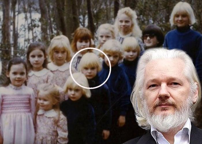 La secta donde se formó Julian Assange