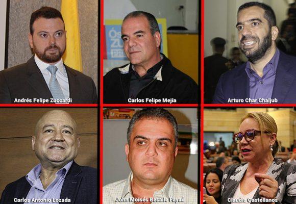 El pasado de los 16 senadores que se declararon impedidos para votar las objeciones a la JEP