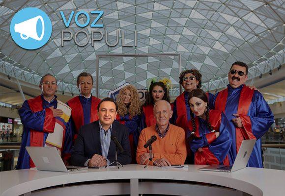Con gracia, Jorge Alfredo Vargas y su combo de Voz Populi le pisa los talones a La Luciernaga
