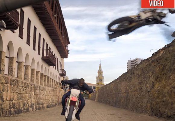Así se ve Cartagena en la nueva película de Will Smith