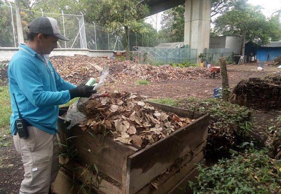 Sobras de comida alimentan los parques de Medellín