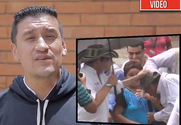La revancha del guardaespaldas al que le pegó el coscorrón Vargas Lleras