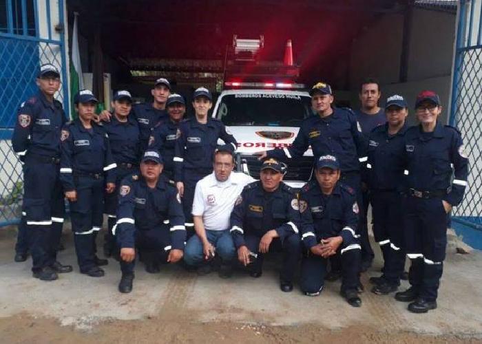 Por falta de recursos, Acevedo (Huila) se quedó sin bomberos