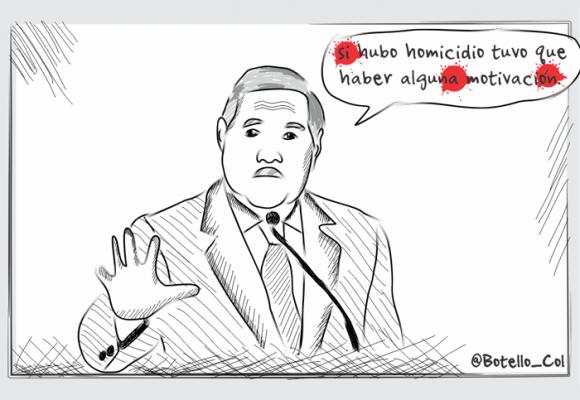 Caricatura: Ministro Botero, ¿todo vale?