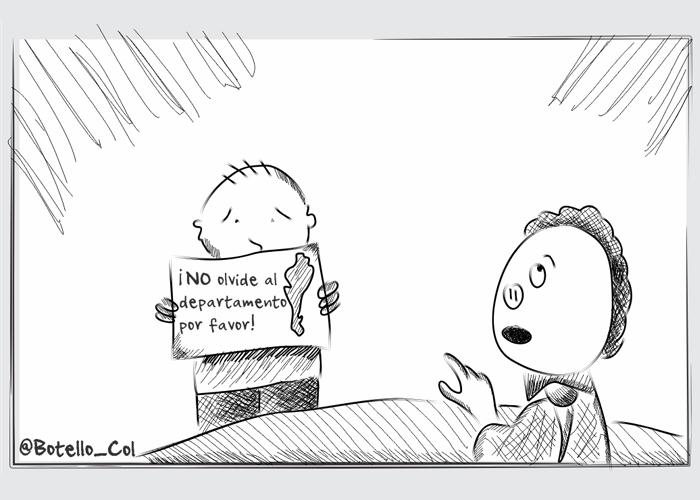Caricatura: Presidente, no se olvide del Cesar
