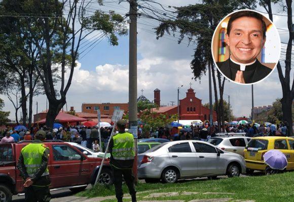 Padre Chucho, los parques son para jugar y las iglesias, para rezar
