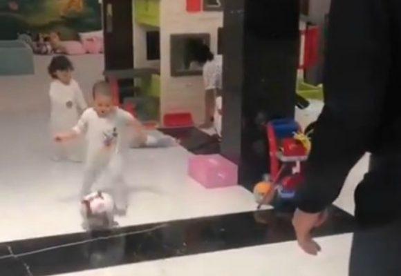 El machismo de Cristiano Ronaldo con su hija