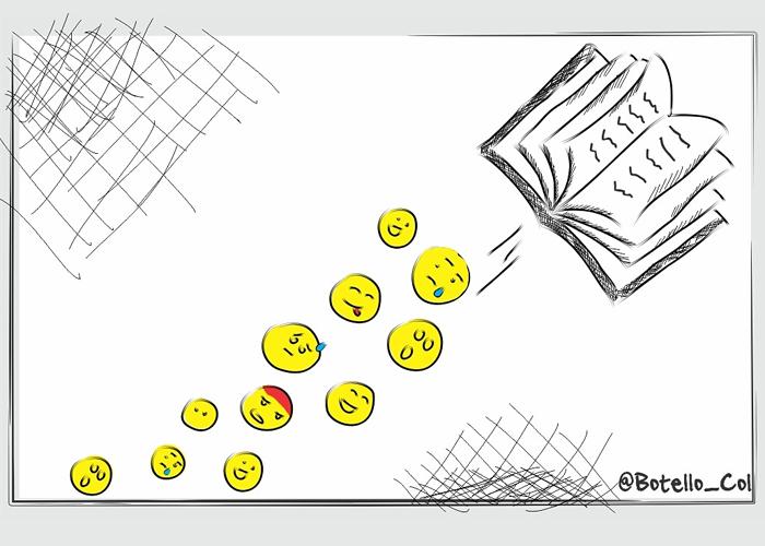 Caricatura: ¿Día del Idioma? ¿Qué es eso?