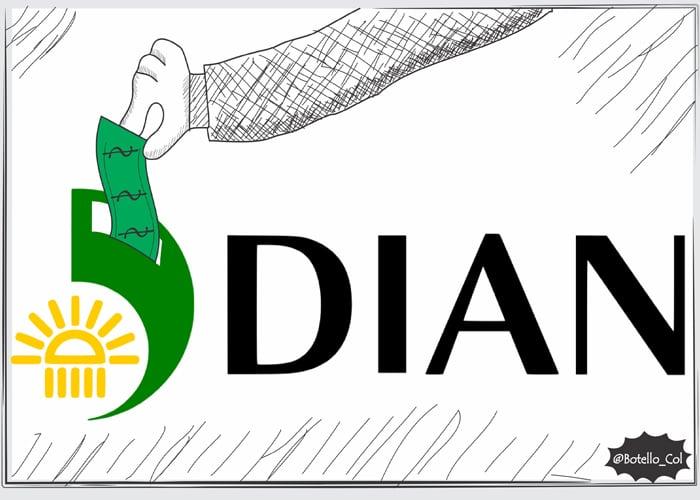 Caricatura: ¿Corrupción en la Dian?
