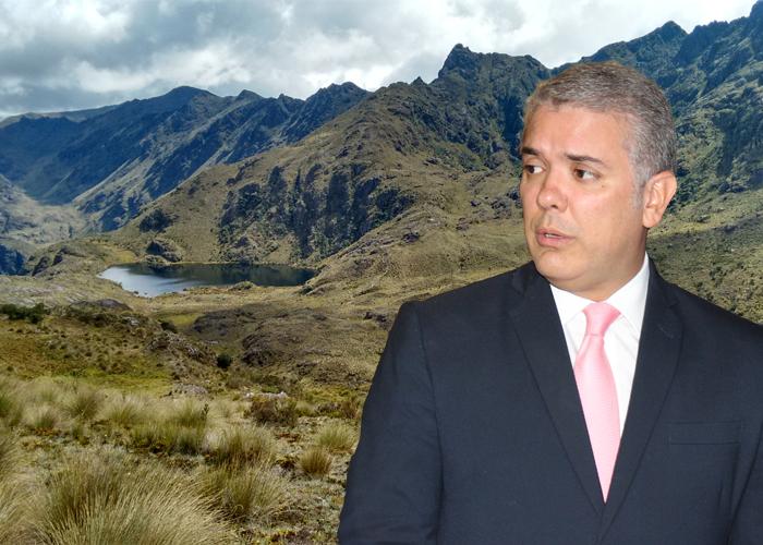 Conservar los páramos o favorecer la producción, la disyuntiva del gobierno  Duque - Las2orillas