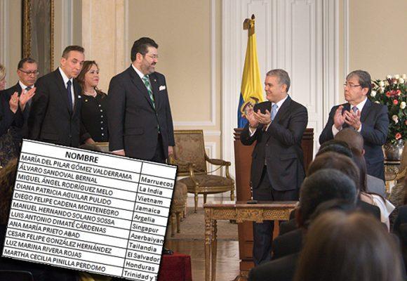 Diplomacia colombiana: con un mínimo de profesionales y muchos amigos y aliados