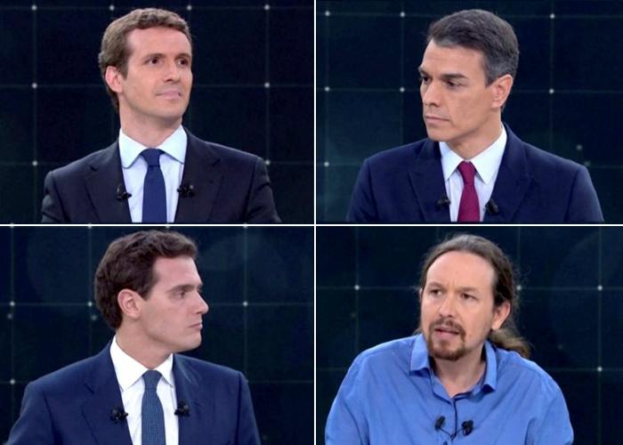 En España, los indecisos tienen la palabra este domingo