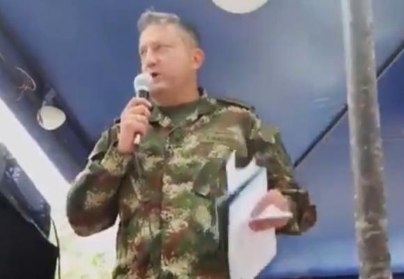 El valiente gesto del general Villegas