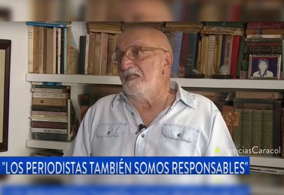 Juan Gossaín le canta la tabla a Caracol y otros medios